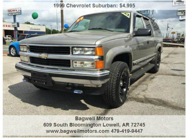 1999 chevrolet suburban k1500 4dr 4wd suv in lowell