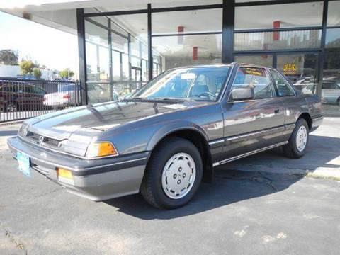 1985 Honda Prelude