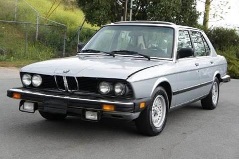 1984 BMW 5 Series