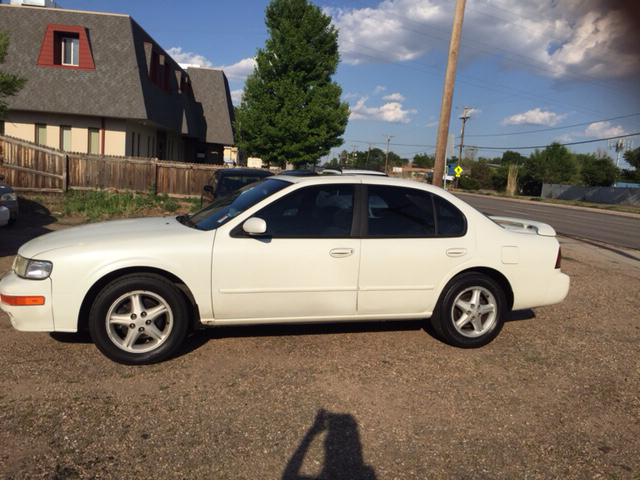 1999 nissan maxima gxe 4dr sedan in wheat ridge co fast. Black Bedroom Furniture Sets. Home Design Ideas