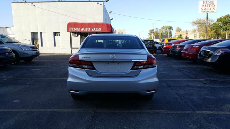 2015 Honda Civic LX 4dr Sedan CVT - Cudahy WI