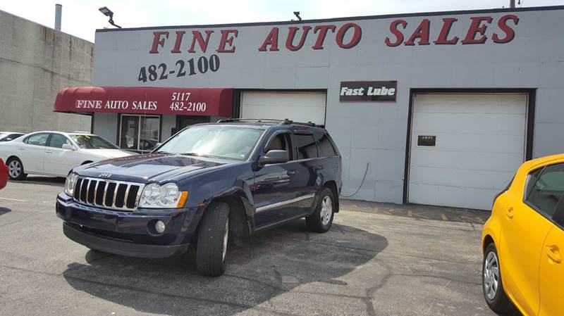 2006 Jeep Grand Cherokee Limited 4dr SUV 4WD w/ Front Side Airbags - Cudahy WI