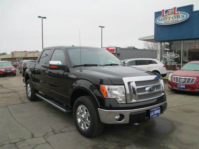 2012 Ford F 150 Lariat 4x4 Lariat 4dr Supercrew Styleside 5 5 Ft Sb In Wisconsin Rapids Wi L