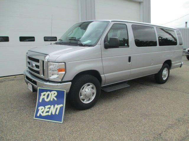 2013 Ford E Series Wagon E 350 Sd Xlt 3dr Extended Passenger Van Wisconsin Rapids Wi