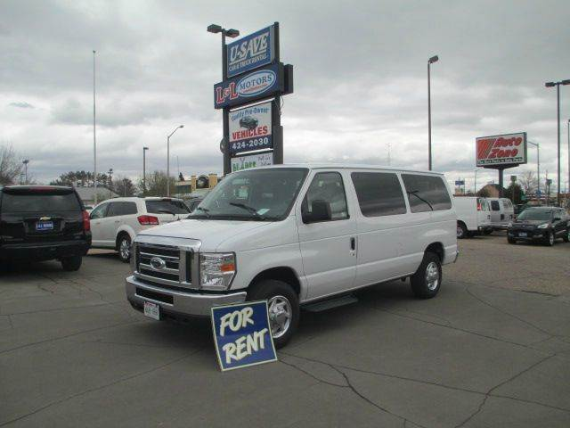 2013 Ford E Series Wagon E 350 Sd Xlt 3dr Passenger Van Wisconsin Rapids Wi