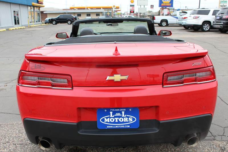 2015 Chevrolet Camaro Ss 2dr Convertible W 2ss In