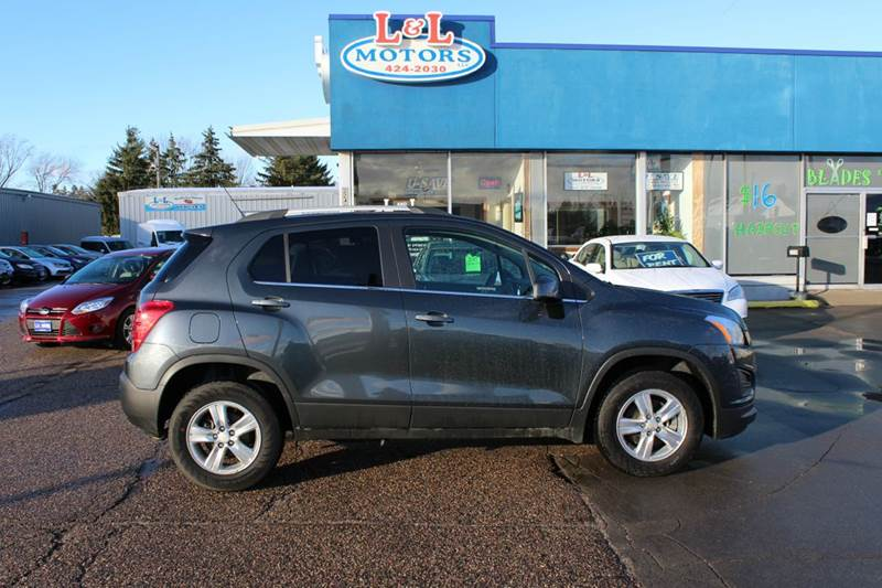 2016 Chevrolet Trax Awd Lt 4dr Crossover W 1lt In