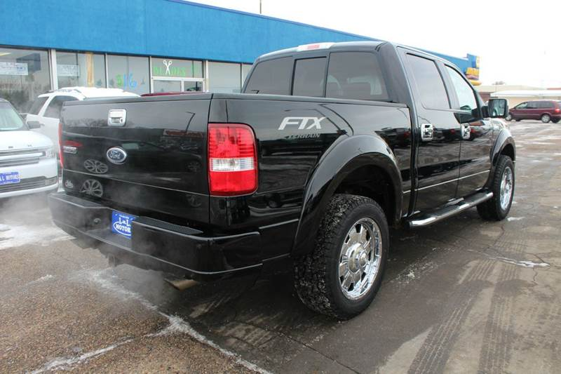 2005 Ford F 150 4dr Supercrew Fx4 4wd Styleside 5 5 Ft Sb