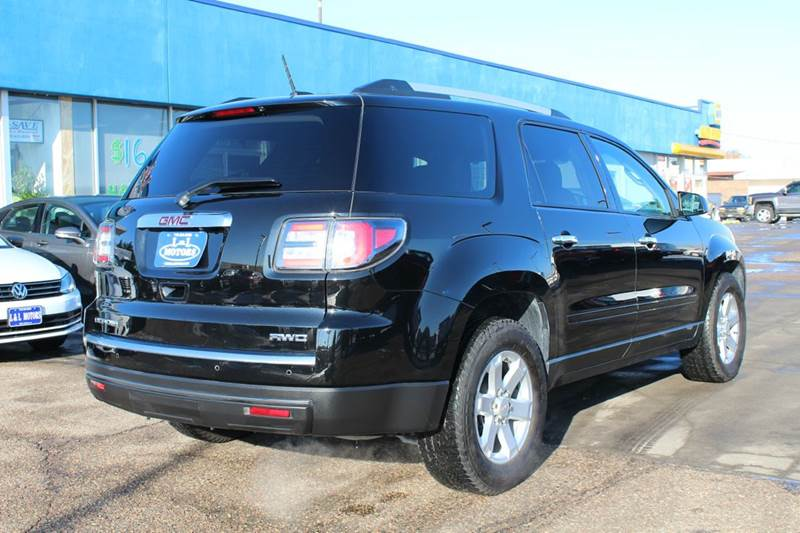 2016 Gmc Acadia Awd Sle 1 4dr Suv In Wisconsin Rapids Wi L L Motorsllc