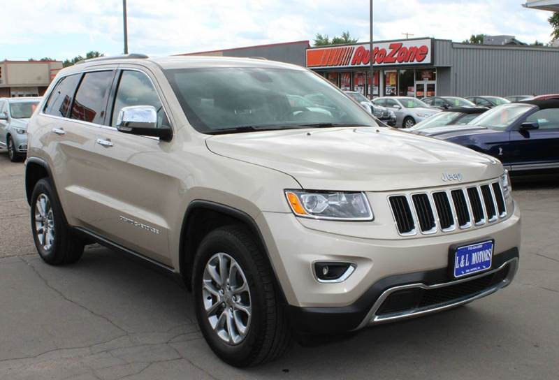 2014 Jeep Grand Cherokee 4x4 Limited 4dr Suv In Wisconsin