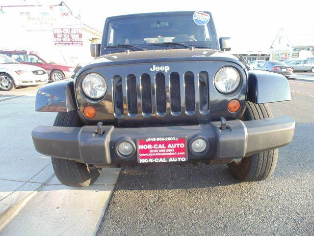 2007 Jeep Wrangler Unlimited Sahara 4dr Suv 4wd In