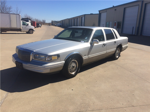 1996 Lincoln Town Car for sale in Bixby, OK