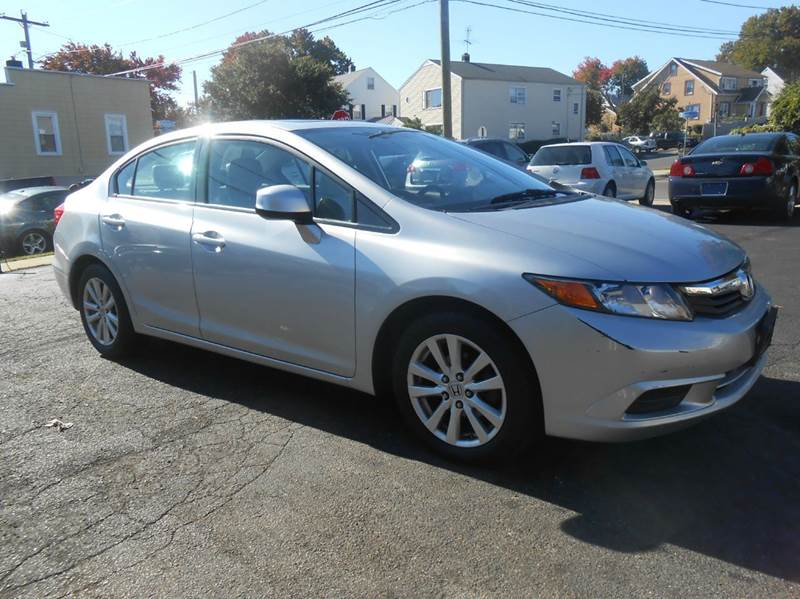 2012 Honda Civic EX-L 4dr Sedan w/Navi - Bridgeport CT