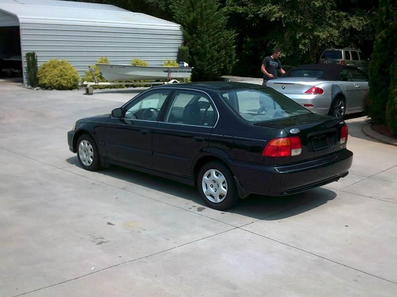 1998 honda civic lx 4dr sedan in taylorsville nc hoyle auto sales. Black Bedroom Furniture Sets. Home Design Ideas