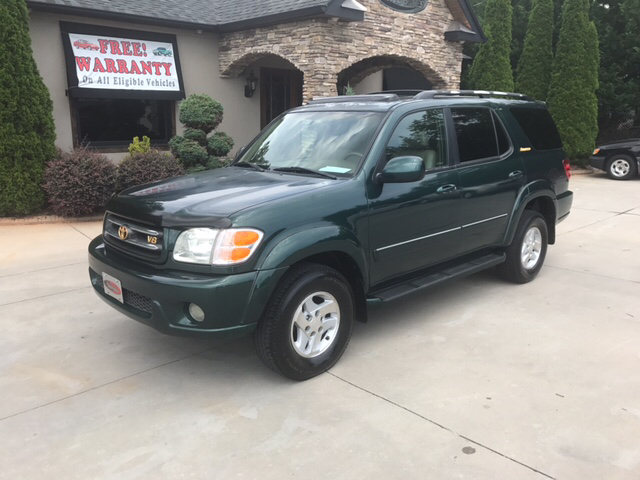 2002 toyota sequoia limited 4wd 4dr suv in taylorsville nc. Black Bedroom Furniture Sets. Home Design Ideas