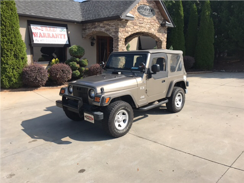2005 Jeep Wrangler for sale in Taylorsville, NC