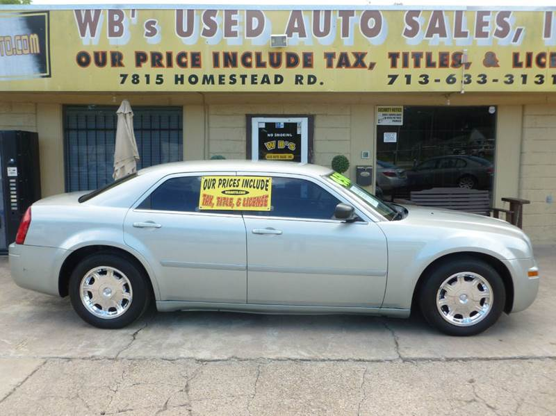 2005 Chrysler 300 Rwd 4dr Sedan - Houston TX