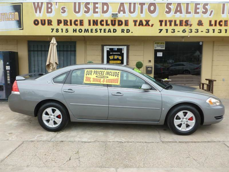 2007 Chevrolet Impala LT 4dr Sedan - Houston TX