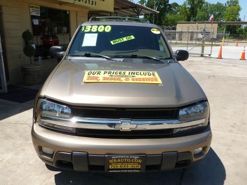 2002 Chevrolet TrailBlazer  - Houston TX
