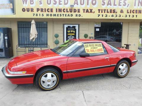 1990 Buick Reatta for sale in Houston, TX