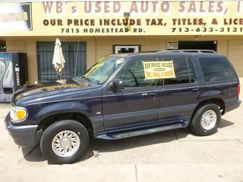 2000 Mercury Mountaineer for sale in Houston, TX