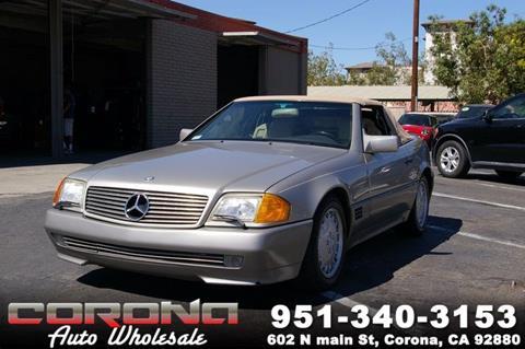 1991 Mercedes-Benz 300-Class for sale in Corona, CA