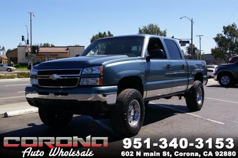 2007 Chevrolet Silverado 1500 Classic for sale in Corona, CA