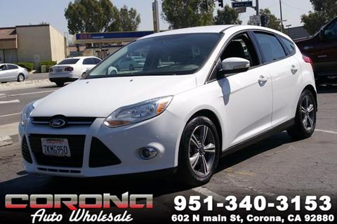 2014 Ford Focus for sale in Corona, CA