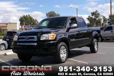 2004 Toyota Tundra for sale in Corona, CA