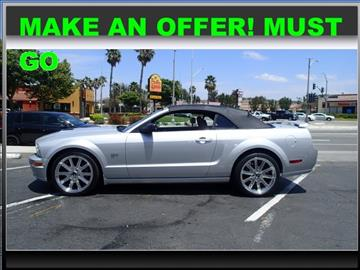 2006 Ford Mustang for sale in Corona, CA