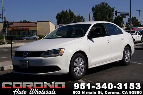 2012 Volkswagen Jetta for sale in Corona, CA