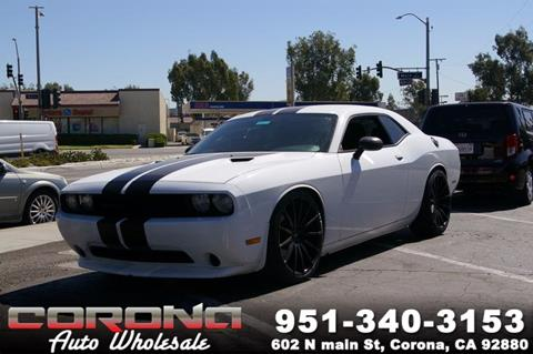 2014 Dodge Challenger for sale in Corona, CA