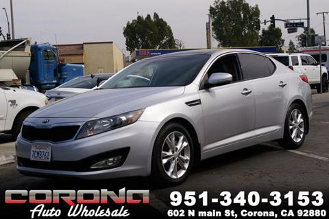 2013 Kia Optima for sale in Corona, CA