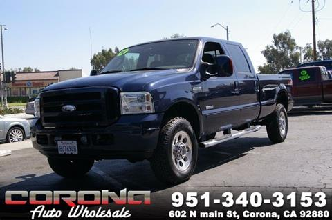 2006 Ford F-350 Super Duty for sale in Corona, CA