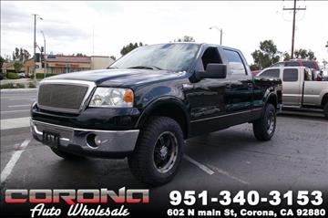 2008 Ford F-150 for sale in Corona, CA
