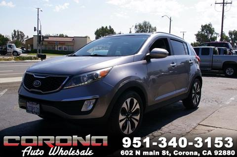 2011 Kia Sportage for sale in Corona, CA