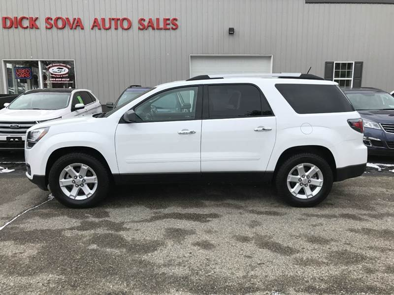 2016 gmc acadia sle 2 4dr suv in shepherd mi dick sova auto sales. Black Bedroom Furniture Sets. Home Design Ideas