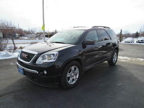 used gmc acadia for sale wisconsin. Black Bedroom Furniture Sets. Home Design Ideas