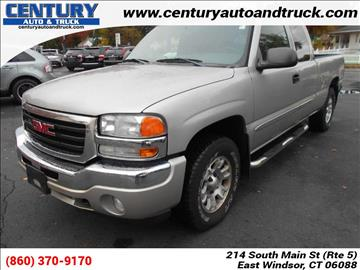 2005 GMC Sierra 1500 for sale in East Windsor, CT