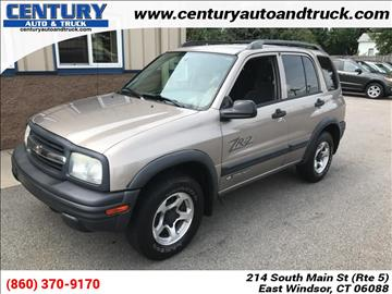 2003 Chevrolet Tracker for sale in East Windsor, CT
