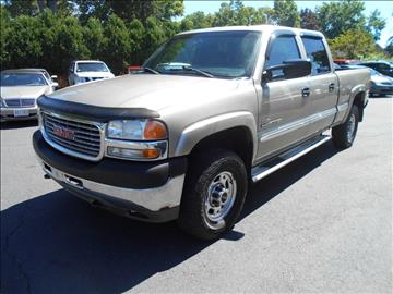 2001 GMC Sierra 2500HD for sale in East Windsor, CT