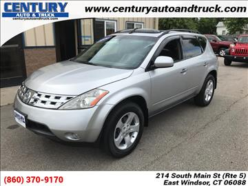 2004 Nissan Murano for sale in East Windsor, CT