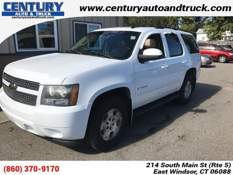 2007 Chevrolet Tahoe for sale in East Windsor, CT