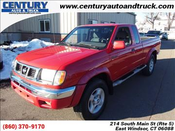 2000 Nissan Frontier for sale in East Windsor, CT