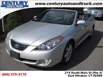 2006 Toyota Camry Solara for sale in East Windsor, CT