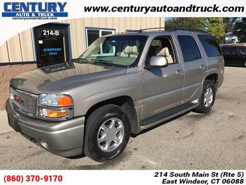2002 GMC Yukon for sale in East Windsor, CT
