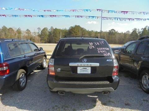 2004 Acura MDX for sale in Wagarville, AL