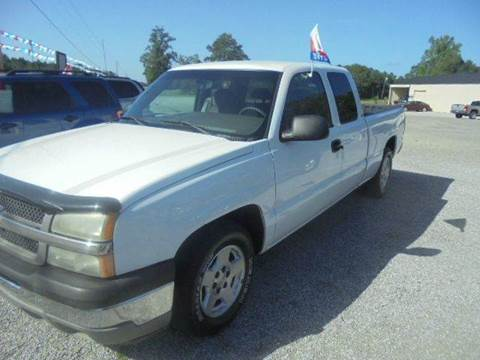 2005 Chevrolet Silverado 1500 for sale in Wagarville, AL