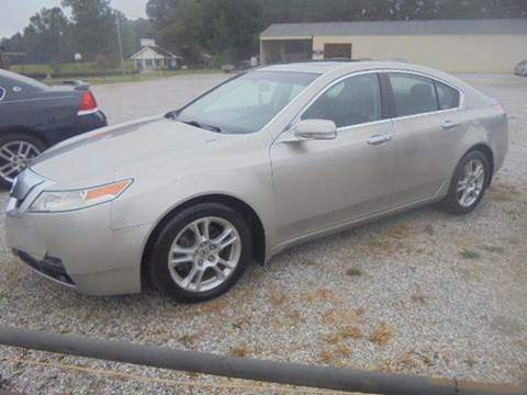 2009 Acura TL for sale in Wagarville, AL