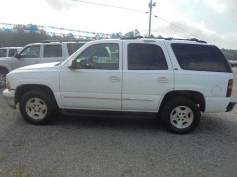 2005 Chevrolet Tahoe for sale in Wagarville, AL
